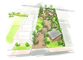 あわら市 にぎわい街区広場基本計画・基本設計(福井県)