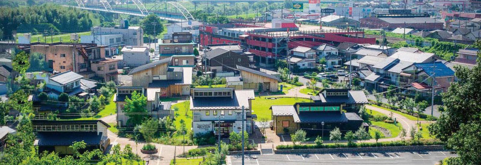 福知山城の麓に広がるガーデンとショップ群 ゆらのガーデン 福知山市中心市街地活性化プロジェクト 京都府福知山市