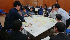 「第2~4回飯田丘のまち会議」中心市街地を考えるワークショップを実施しました!
